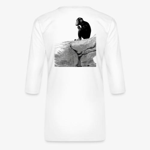 Music Monkey - Women's Premium 3/4-Sleeve T-Shirt