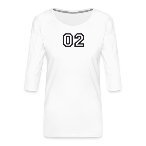 Praterhood Sportbekleidung - Frauen Premium 3/4-Arm Shirt