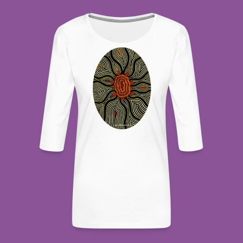 Aura 11 - Frauen Premium 3/4-Arm Shirt