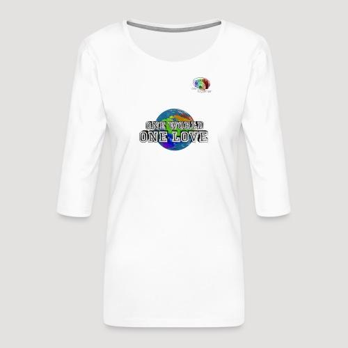 Shirt5 - Frauen Premium 3/4-Arm Shirt