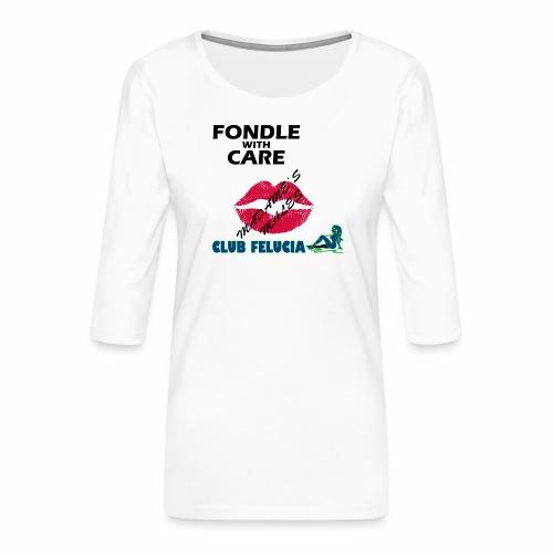 FWC_males - Women's Premium 3/4-Sleeve T-Shirt