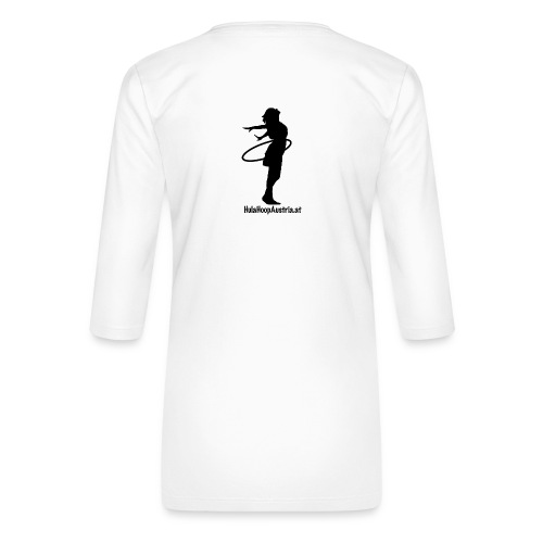 Hoop Dance Girl - Frauen Premium 3/4-Arm Shirt
