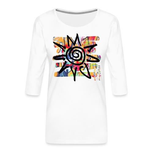 HotDay - Frauen Premium 3/4-Arm Shirt