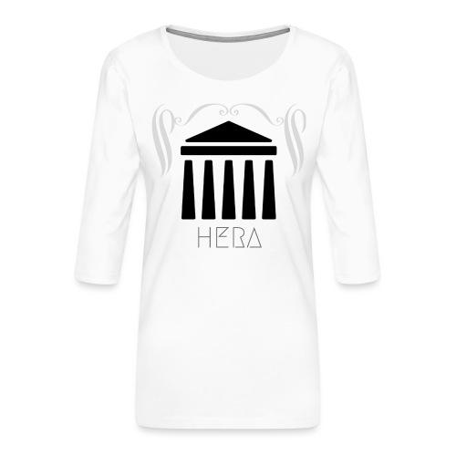 HERA - T-shirt Premium manches 3/4 Femme