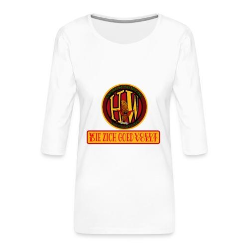 wie en die png - Women's Premium 3/4-Sleeve T-Shirt