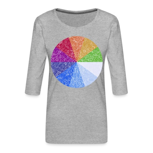 APV 10.1 - Women's Premium 3/4-Sleeve T-Shirt