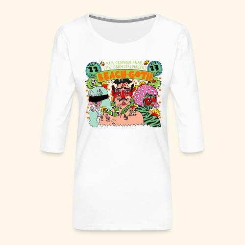 beach goth 2016 - T-shirt Premium manches 3/4 Femme