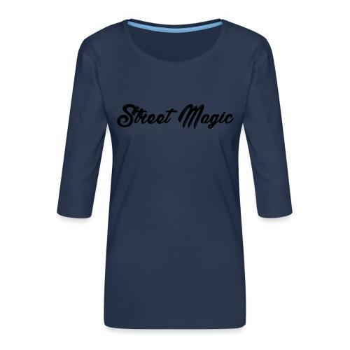 StreetMagic - Women's Premium 3/4-Sleeve T-Shirt