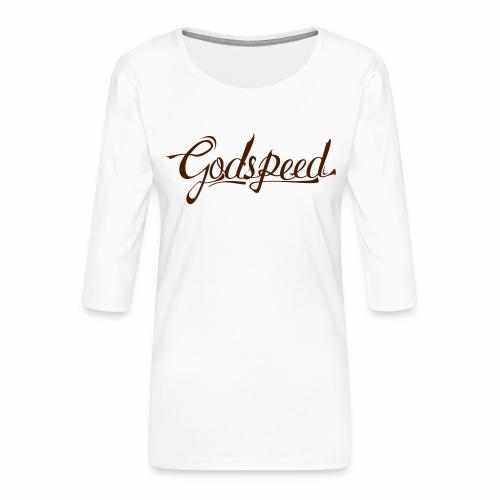 Godspeed 2 - Naisten premium 3/4-hihainen paita