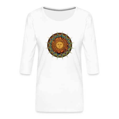 The Sun In Me - Frauen Premium 3/4-Arm Shirt