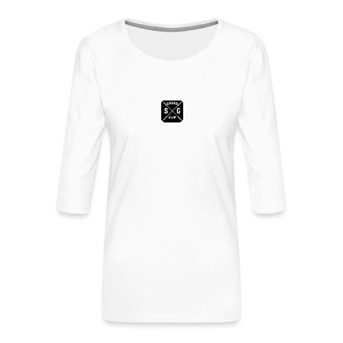Gym squad t-shirt - Women's Premium 3/4-Sleeve T-Shirt