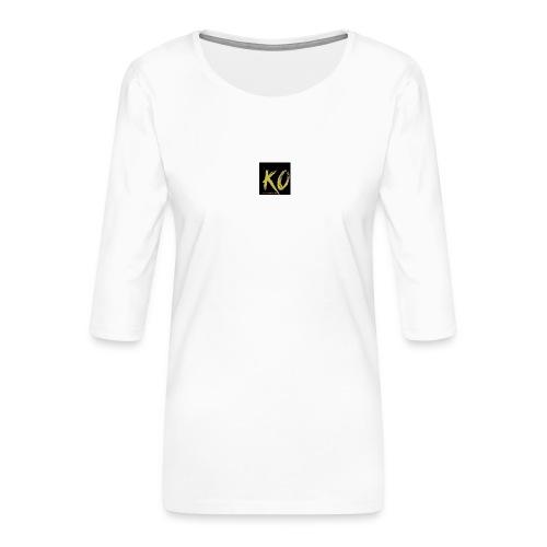 k.o-ousmanekebe - T-shirt Premium manches 3/4 Femme