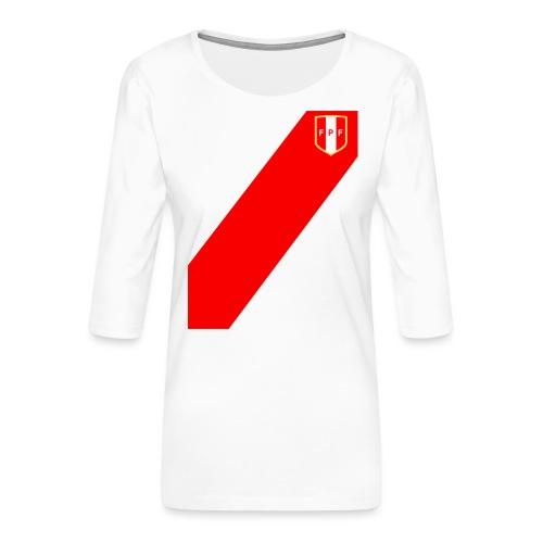 Seleccion peruana de futbol (Recto-verso) - Women's Premium 3/4-Sleeve T-Shirt