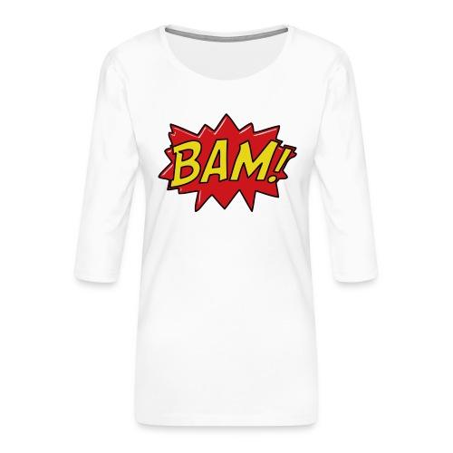 bamtamelijk - Vrouwen premium shirt 3/4-mouw