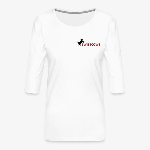 Swisscows - Frauen Premium 3/4-Arm Shirt