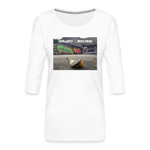 GALWAY IRELAND BARNA - Women's Premium 3/4-Sleeve T-Shirt