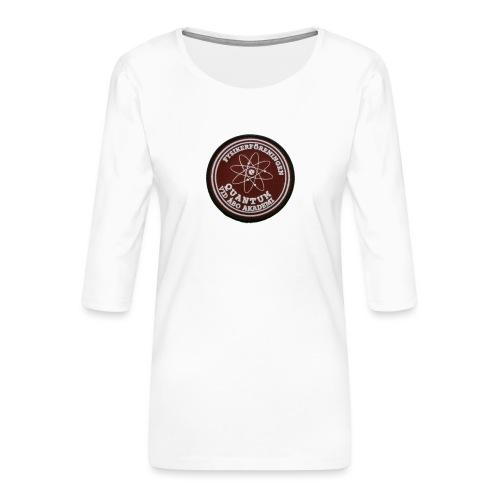 quantum - Naisten premium 3/4-hihainen paita