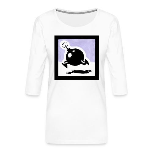 bomba - Maglietta da donna premium con manica a 3/4