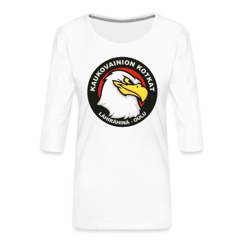 Kaukovainion Kotkat - Naisten premium 3/4-hihainen paita