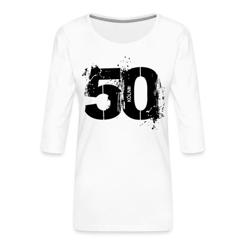 Motiv_City_Köln_50 - Frauen Premium 3/4-Arm Shirt