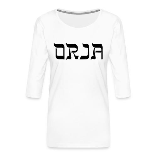 ORJA - Naisten premium 3/4-hihainen paita