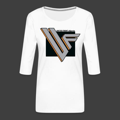 United Front - Naisten premium 3/4-hihainen paita