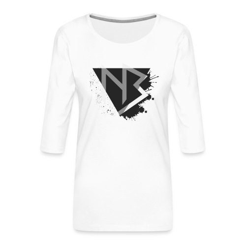 T-shirt NiKyBoX - Maglietta da donna premium con manica a 3/4
