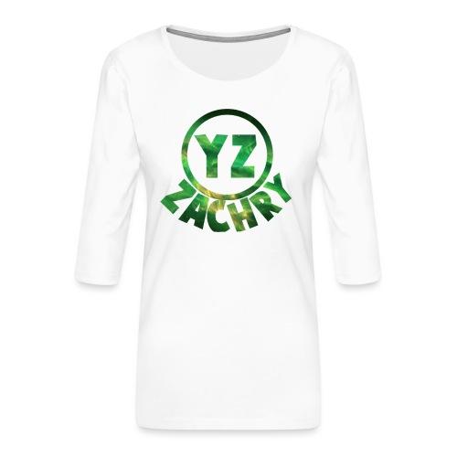 YZ-pet - Vrouwen premium shirt 3/4-mouw