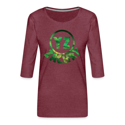 ifoon 5 YZ-Hoesje - Vrouwen premium shirt 3/4-mouw
