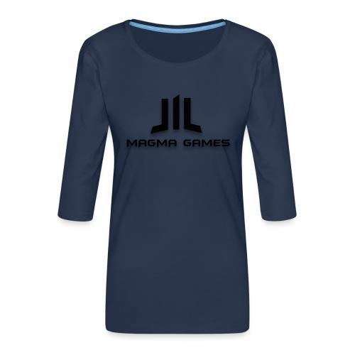 Magma Games t-shirt - Vrouwen premium shirt 3/4-mouw