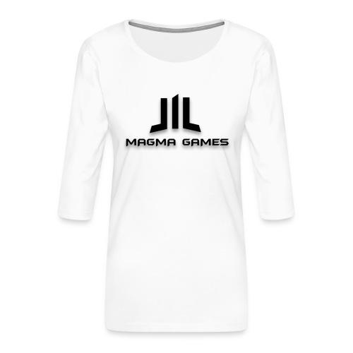 Magma Games S4 hoesje - Vrouwen premium shirt 3/4-mouw