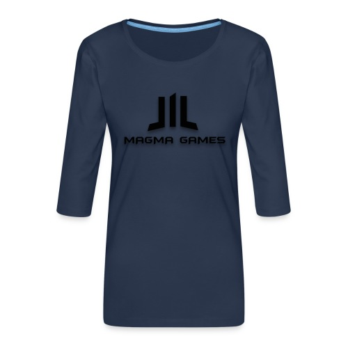 Magma Games hoesje - Vrouwen premium shirt 3/4-mouw
