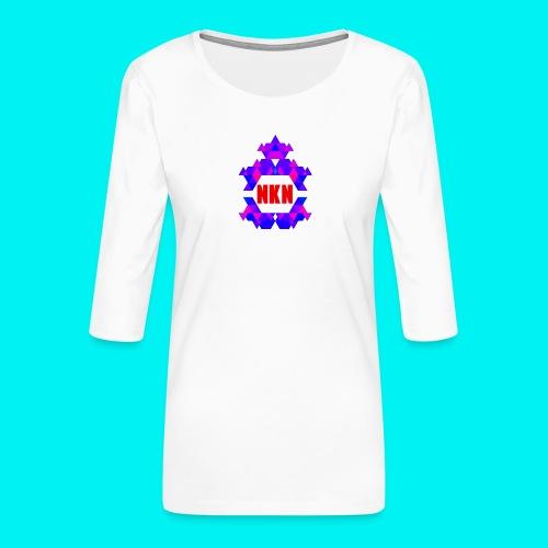 THE OFFICIAL NEUKADNEZZAR T-SHIRT - Women's Premium 3/4-Sleeve T-Shirt