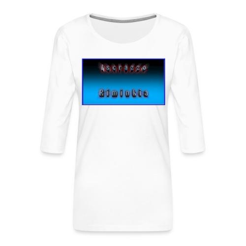 Tappetino per Mouse - Maglietta da donna premium con manica a 3/4