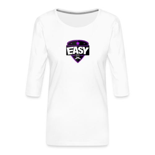 Team EasyFive T-paita - Naisten premium 3/4-hihainen paita