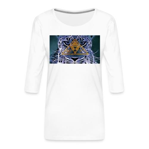 Infradito Beatstux - Maglietta da donna premium con manica a 3/4