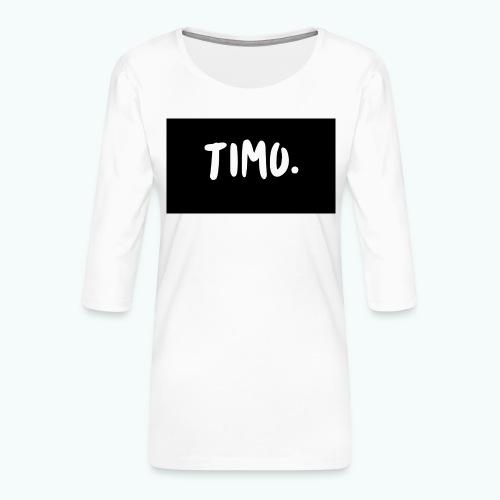 Ontwerp - Vrouwen premium shirt 3/4-mouw