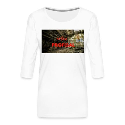 profisal - Koszulka damska Premium z rękawem 3/4