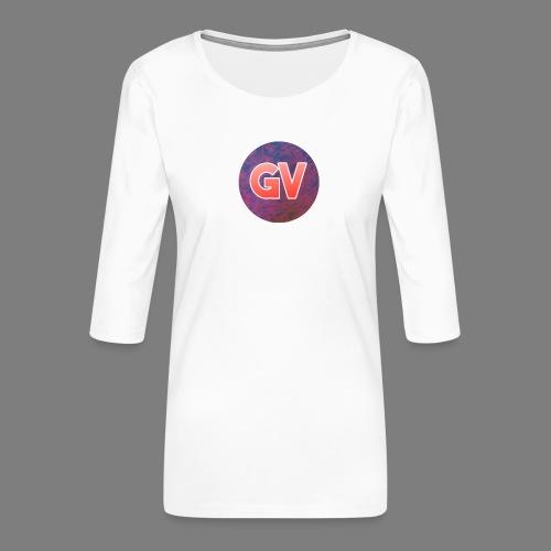 GV 2.0 - Vrouwen premium shirt 3/4-mouw