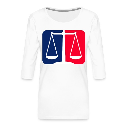 Logo2 - Frauen Premium 3/4-Arm Shirt
