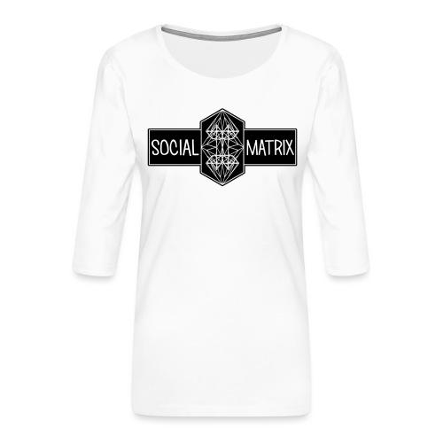 HET ORIGINEEL - Vrouwen premium shirt 3/4-mouw