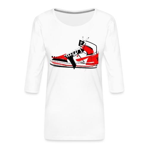 Destrukt my Shoes by MiZAl Touch Concept - T-shirt Premium manches 3/4 Femme