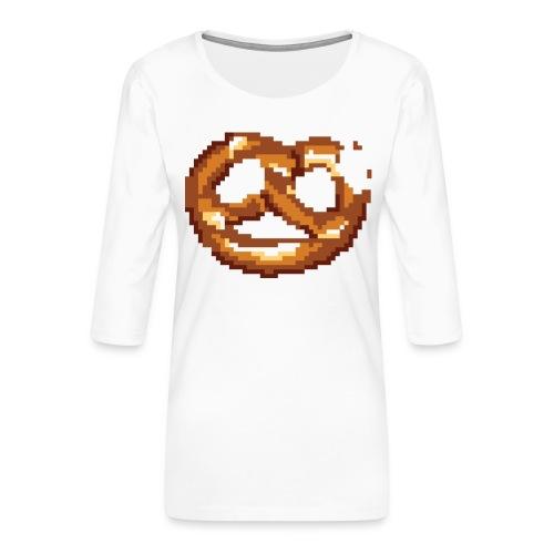 Breze mit Biss - Frauen Premium 3/4-Arm Shirt