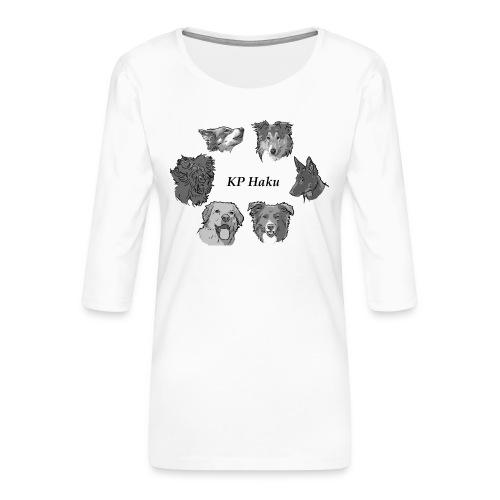 Tintti - Naisten premium 3/4-hihainen paita
