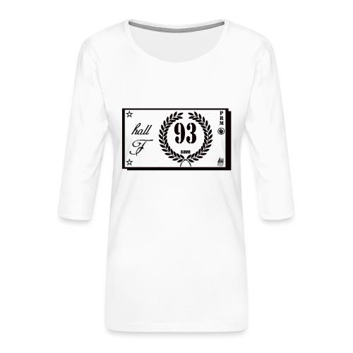 prm hall f - T-shirt Premium manches 3/4 Femme