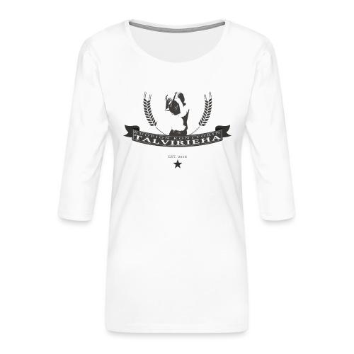 Talvirieha - Naisten premium 3/4-hihainen paita