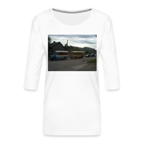 Sortavala - Naisten premium 3/4-hihainen paita
