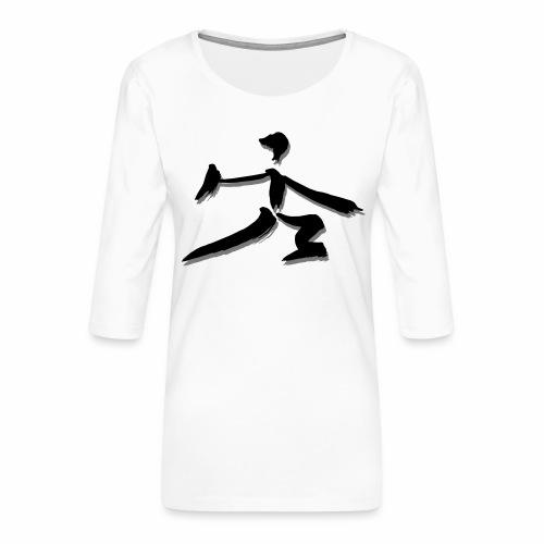 DanBian VII - Frauen Premium 3/4-Arm Shirt