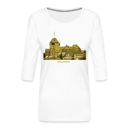 Solingen Schloss Burg Wupper Nordrhein-Westfalen - Frauen Premium 3/4-Arm Shirt