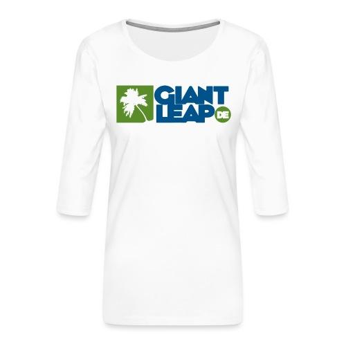 palme - Frauen Premium 3/4-Arm Shirt